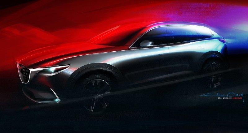 Yeni Mazda CX-9 Los Angeles Motor Show'da Tanıtılacak