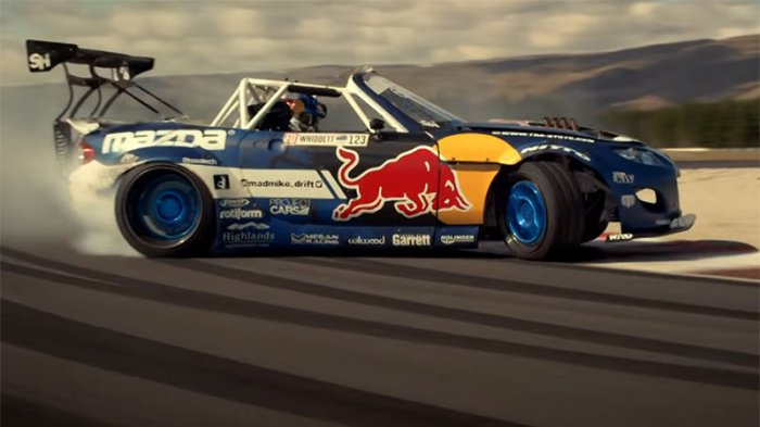 """Mad Mike ve 1500 HP Mazda MX-5'i """"RADBUL"""""""