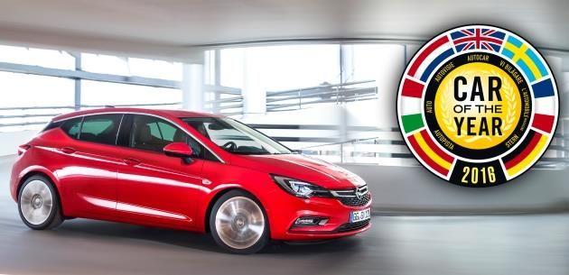 2016 Yılın Otomobili Opel Astra Seçildi.