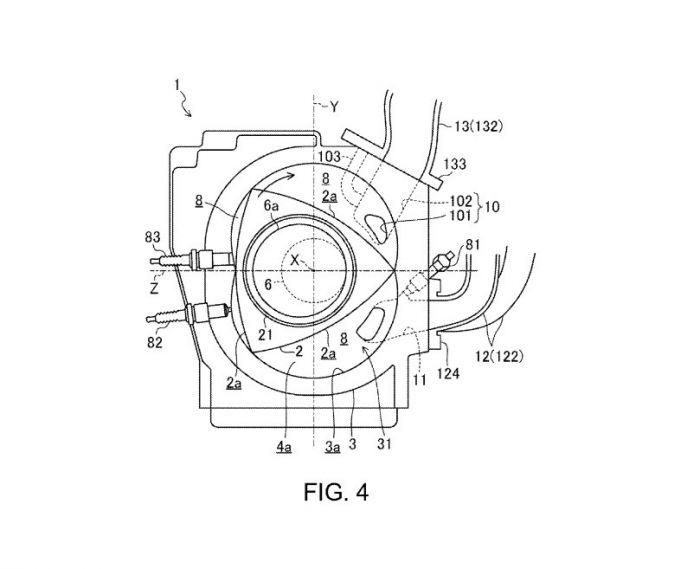Mazda, Yeni Rotary Motor İçin Patent Başvurusu Yaptı