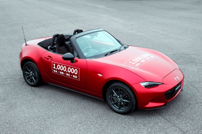 Mazda MX-5 Üretimi 1 Milyona Ulaştı