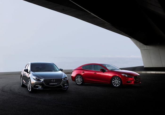 Makyajlı 2017 Mazda 3 Japonya'da Tanıtılıp Satışa Sunuldu