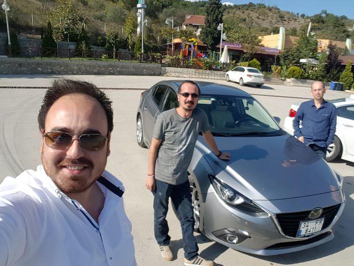 2016 Mazda 3 1.5 Dizel Otomatik ile 1400 Km