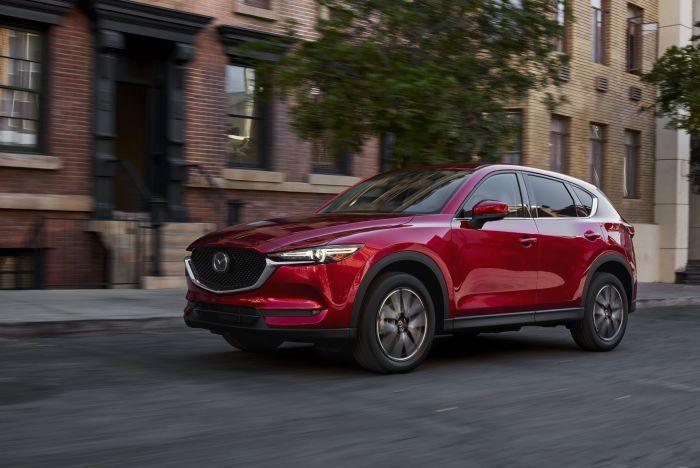 Yeni Mazda CX-5 Los Angeles Auto Show da Tanıtıldı