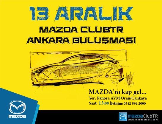 Mazda Tutkunları Ankara'da Buluşuyor