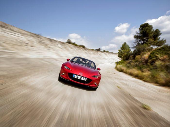 Yeni Mazda MX-5'e Dokuz Ödül Daha