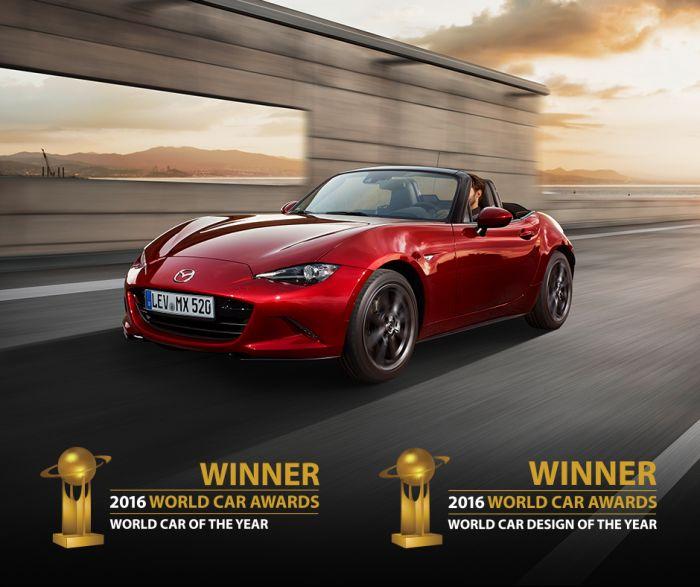 Yeni Mazda MX-5'e Çifte Ödül