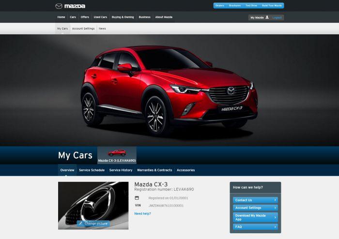 Yenilenmiş My Mazda Uygulaması Yayınlandı