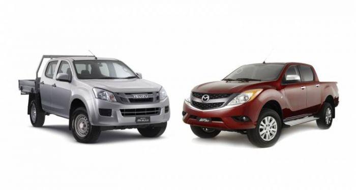 Mazda Yeni Nesil BT-50 için ISUZU ile Anlaştı