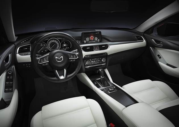 2017 Mazda 6 Sonbaharda Avrupa'da Satışa Sunuluyor
