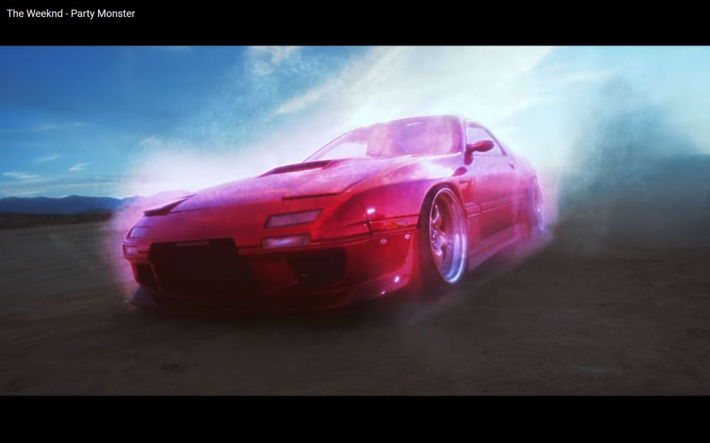 The Weeknd - Party Monster - Mazda RX-7 FC'li Klip - Mazda