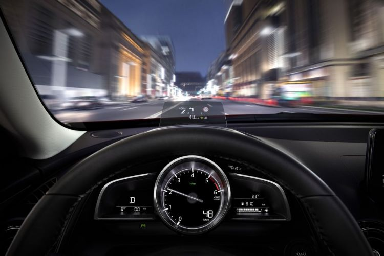 2017 Mazda CX-3 Head Up Display - HUD