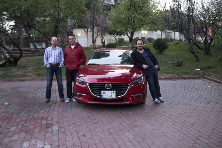 Test Günlüğü Ekibi - 2017 Mazda 3