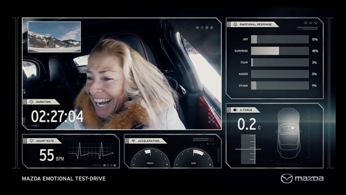 Mazda'dan Duygu Ölçen Test Sürüşü