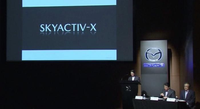 Karşınızda SKYACTIV-X