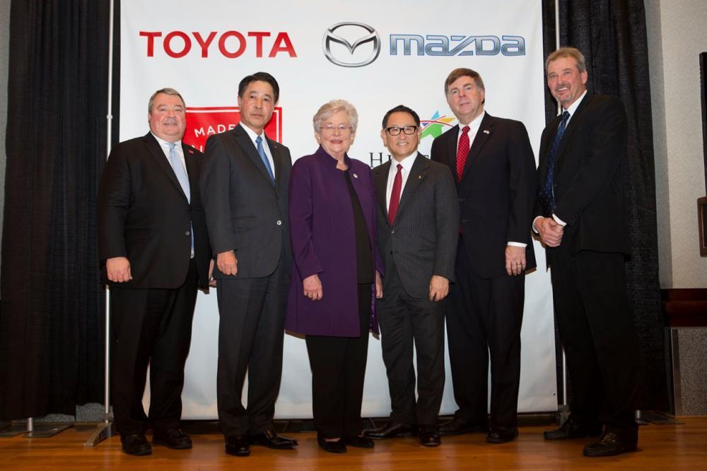 Mazda - Toyota Ortak Girişimi Olan MTMUS Şirketi Kuruldu
