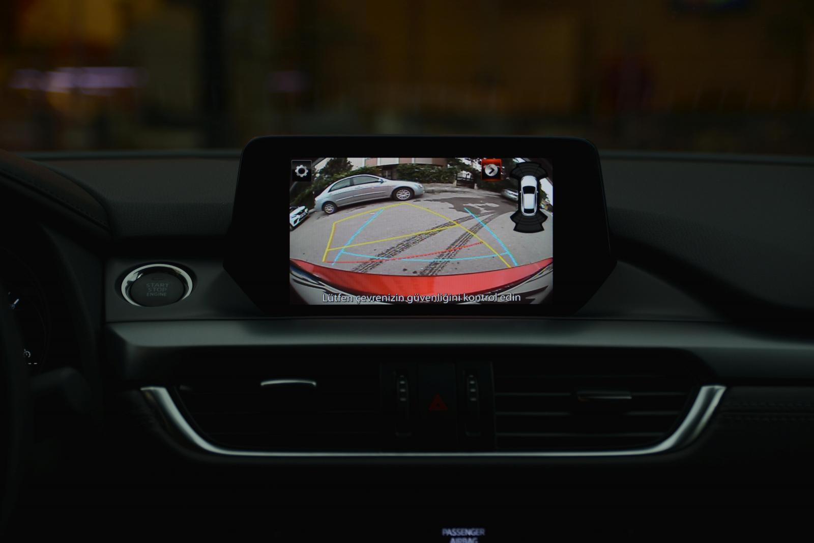 2017 Mazda6 Geri Görüş Kamerası
