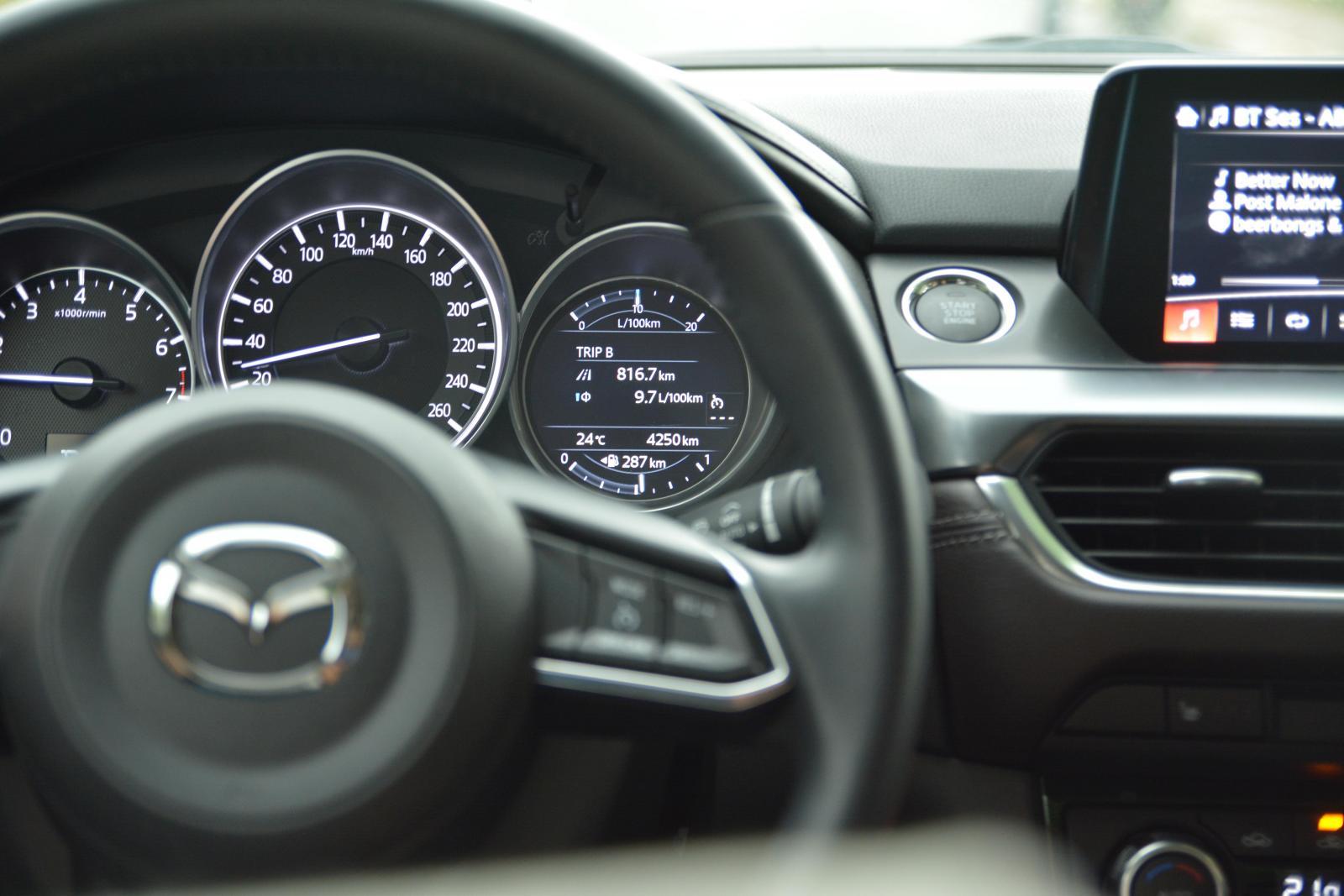 2017 Mazda6  Konsol ve Bilgi Ekranı