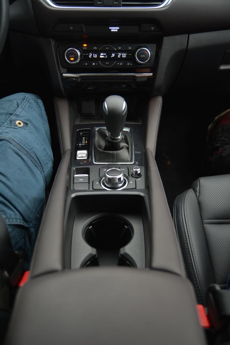 2017 Mazda6 Konsol