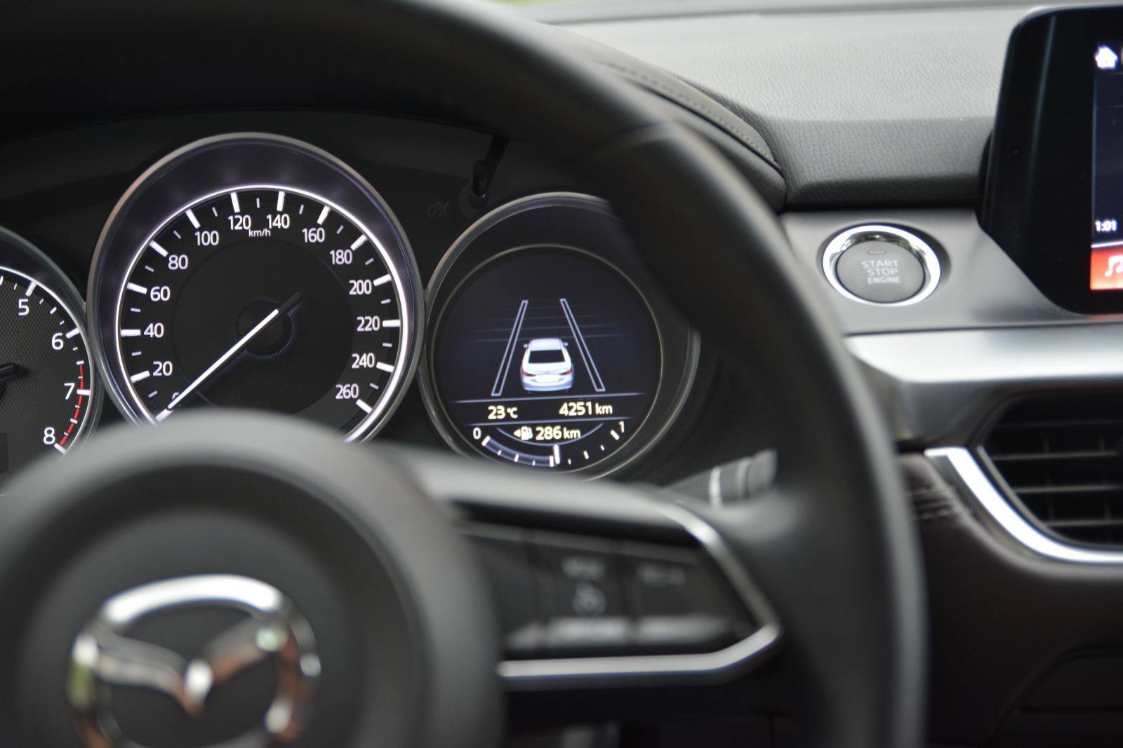 2017 Mazda6 Bilgi Ekranı