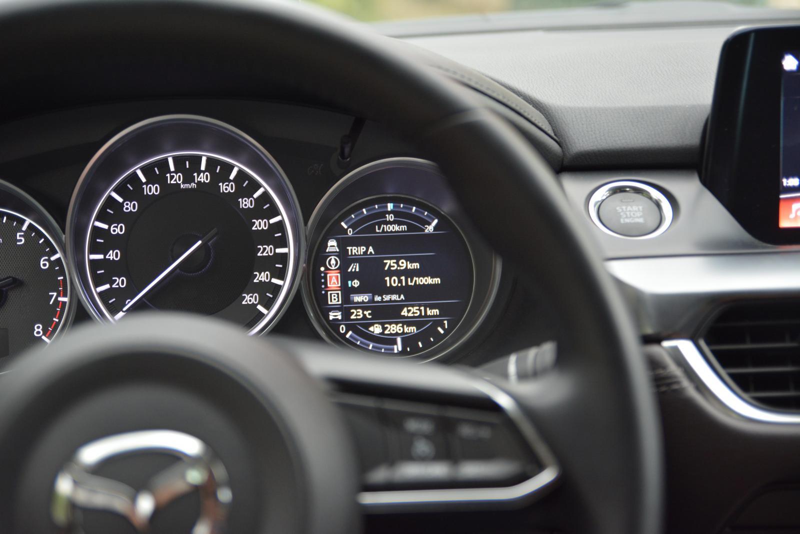 2017 Mazda6 Bilgi Ekranı - Trip A
