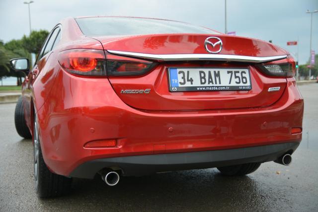 2017 Mazda6 Dış Görünüş Arka