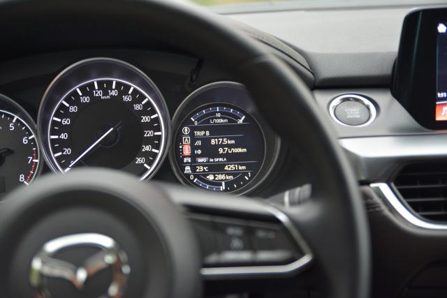 2017 Mazda6 Bilgi Ekranı - Trip B