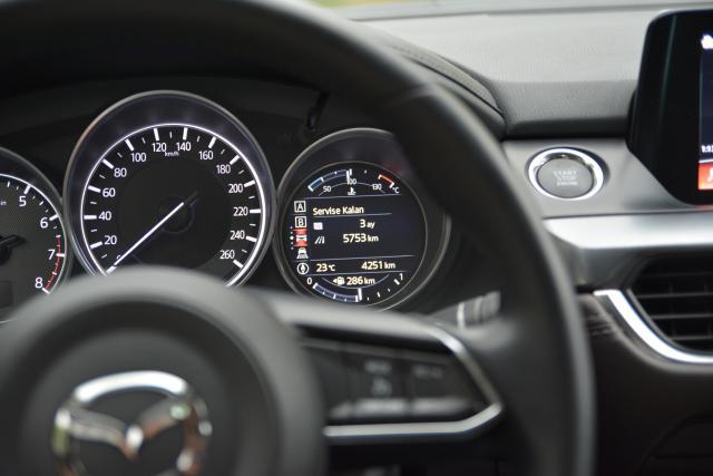 2017 Mazda6 Bilgi Ekranı - Servis Bilgi