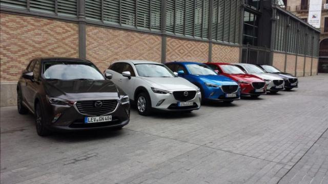 15 - 16 Mart - Barselona - Mazda CX-3 Test Sürüşü