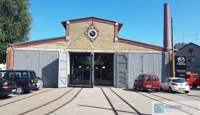 Almanya'daki Klasik Mazda Modelleri Müzesi